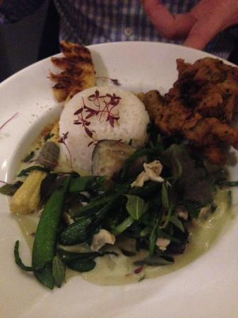 Dog in a Doublet: Vegetarian Thai Green curry