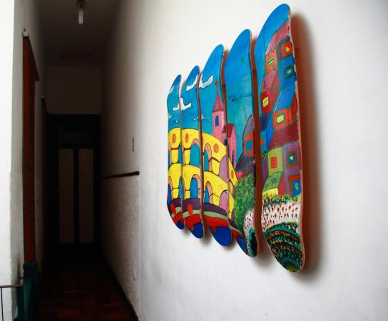 Hostel Harmonia: Detail from the first floor