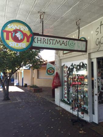 Santa's Secret Toy Store