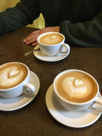 Saint Peter, MN: We love lattes from River Rock!