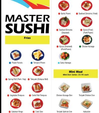 Master Sushi : Fries