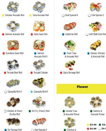 Master Sushi : Medium Size Maki