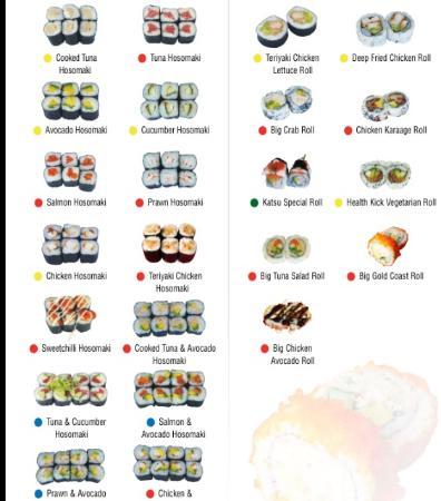 Master Sushi : Small Size Maki ---Hosomaki