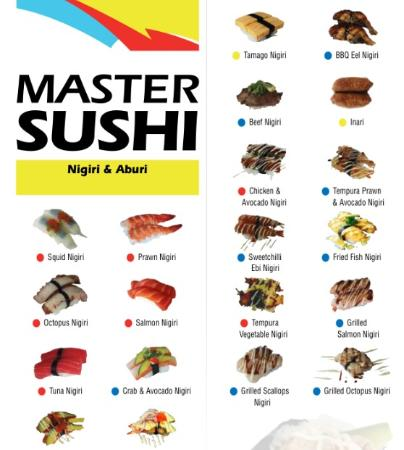 Master Sushi : Nigiri and Aburi