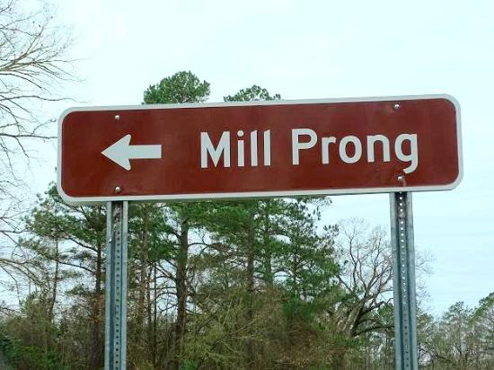 Raeford, NC: sign on road