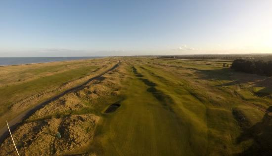 Princes Golf Club: Aerial image