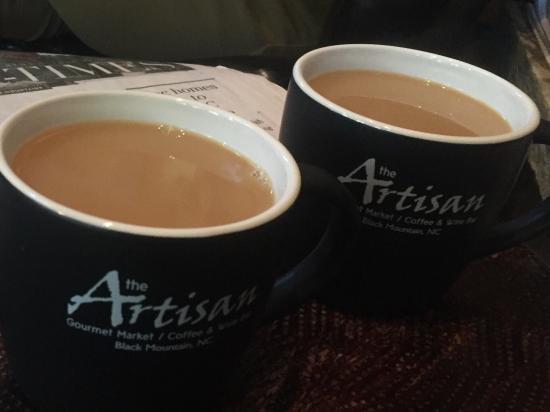 The Artisan Gourmet Market: Coffee paradise!