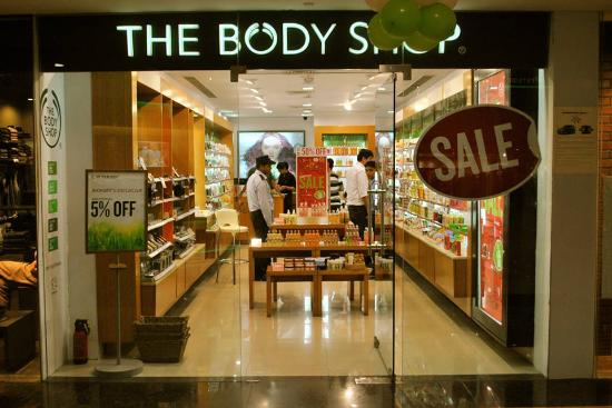 The Body Shop, located on the ground floor - Picture of