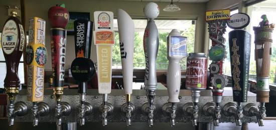 Dillsburg, PA: 12 taps with 5 rotating craft/micro brews
