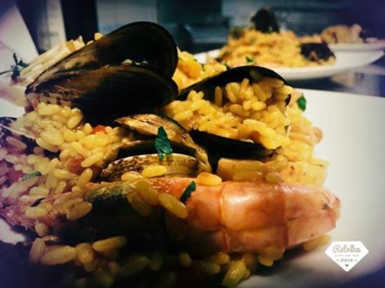 Trattoria il Giogo: Paella di Pesce