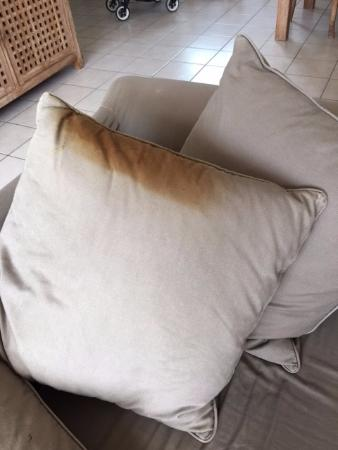 ESTIVEL - Villas Atlantic Green: L'oreiller du canapé tâché
