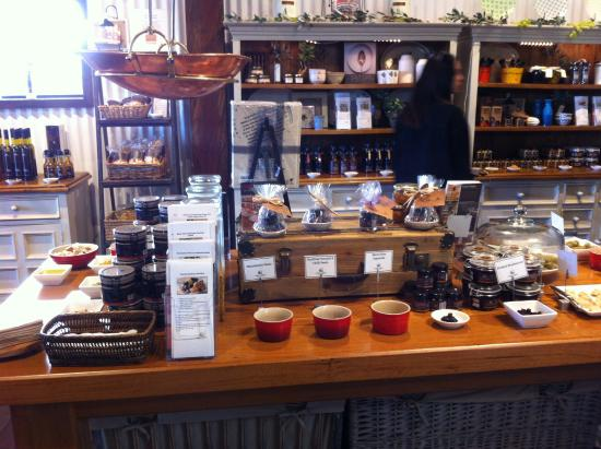 Vasse Virgin: Some of the product range on display
