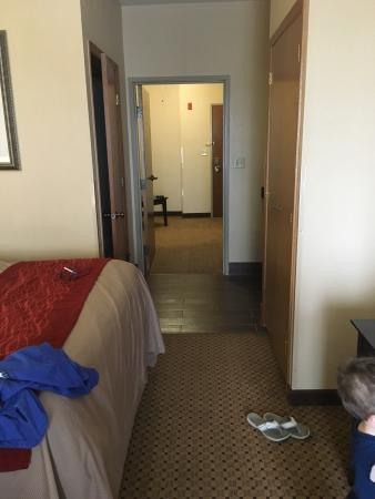 Kenosha, WI: We were very pleased with our room