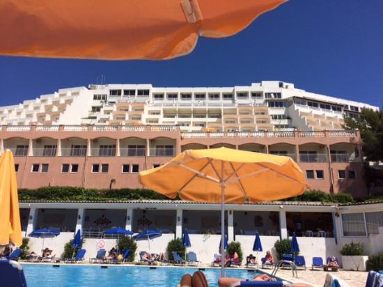 Swim Up Room Balcony Bild Von Sunshine Corfu Hotel Amp Spa