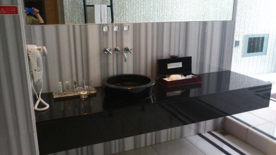 Mulan Motel Taipei: 洗手台