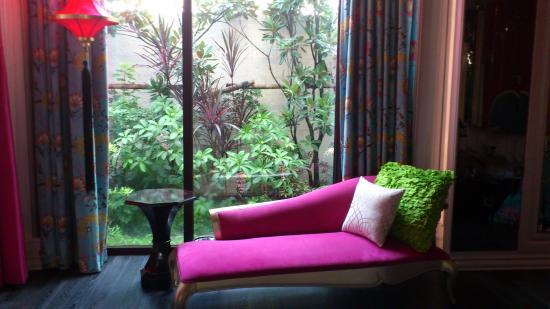Mulan Motel Taipei: 貴妃椅