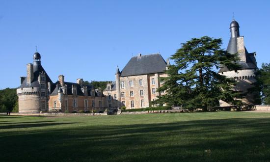 Bonnes, Γαλλία: chateau de Touffou