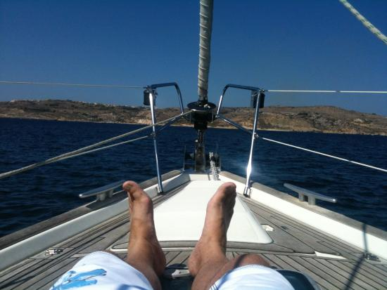 Sail Gozo Tours: That's my feet