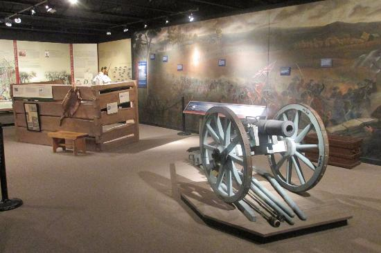Gaffney, Carolina del Sud: Part of the Revolutionary War portion of the museum.