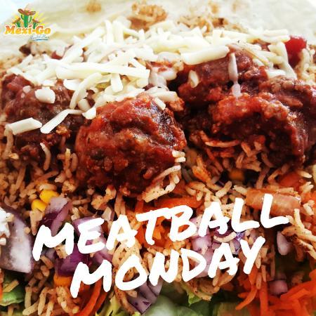 Dowlais, UK: Meatball Monday