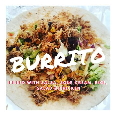 Dowlais, UK: Burrito