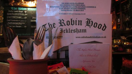 Icklesham, UK: Good choice of food from the menu and specials board..