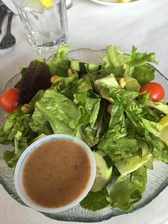 Kingston, Nowy Jork: house salad