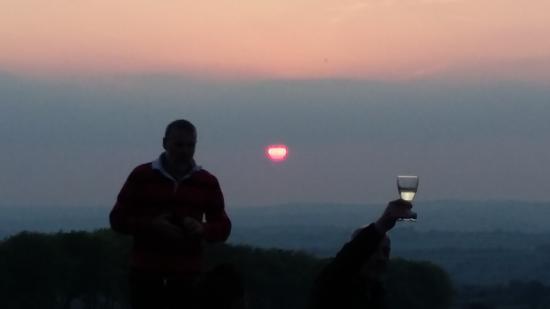 Brechfa, UK: Sun Set