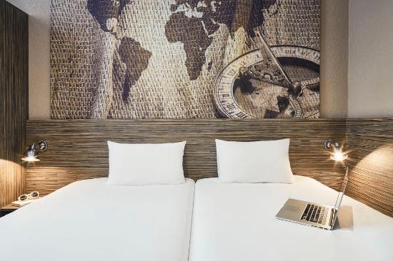 Ibis Styles Hyeres Centre Gare : Chambre à deux lits