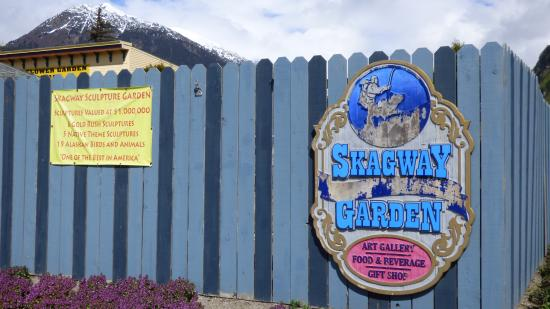 Skagway Sculpture & Flower Garden