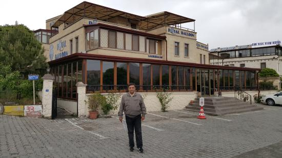 Royal Stone Houses: In front of the hotel