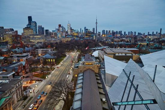 Park Hyatt Toronto: View from The Roof Lounge