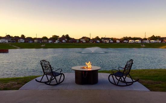 Katy Lake RV Resort Back Porch