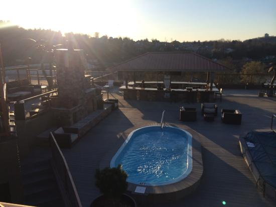 The Chestnut Boutique Hotel: Hotel 4th Floor Cabana VIP Area