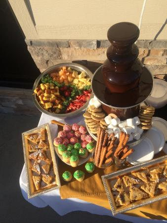 The Chestnut Boutique Hotel: Catering Available
