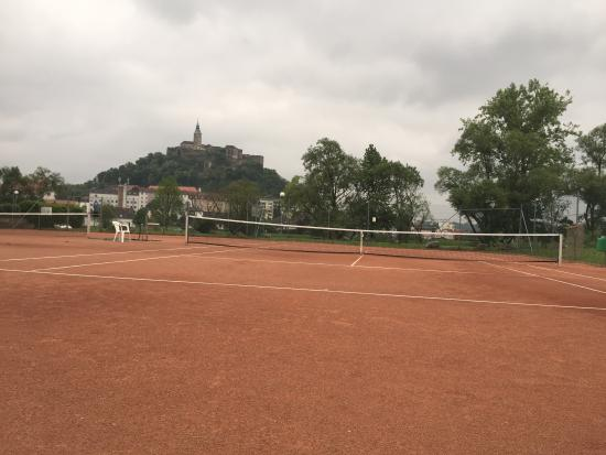 Gussing, Austria: Tenniscourts 2