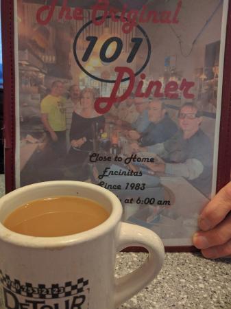 101 Diner: Menu