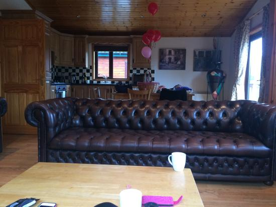 Daughters hen spa and overnight stay in log cabin
