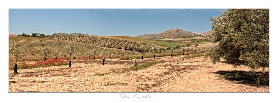 Teba, Spania: Approach to the Castle