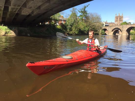 Hereford, UK: who need a beach to enjoy water and sun