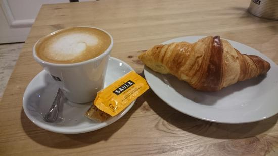 Image result for croissant and cafe con leche