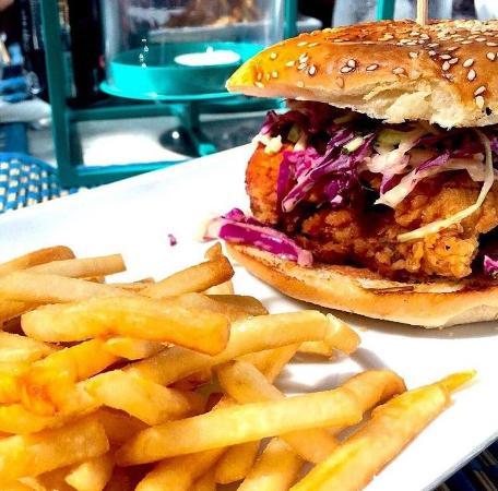 Panama Province, Panama: Chicken Burger
