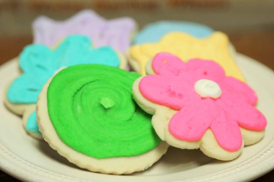 Remington, Индиана: FROSTED SUGAR COOKIE CUTOUTS