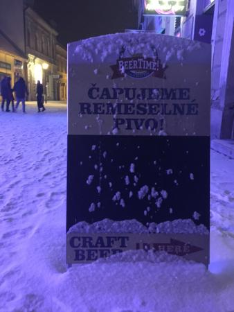 Nitra, سلوفاكيا: Beer Time!