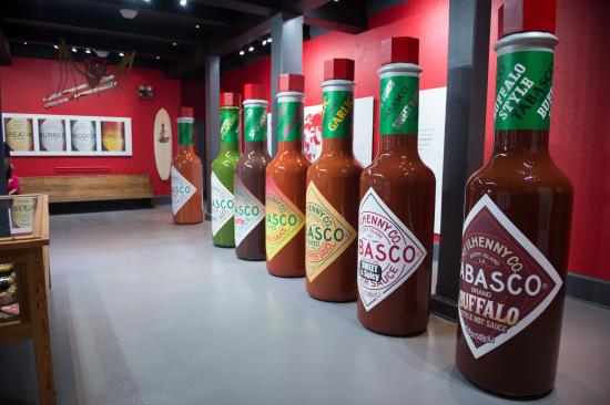 Avery Island, LA: Stop 8: TABASCO® today