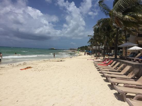 Residences El Faro The Beach In Front Of