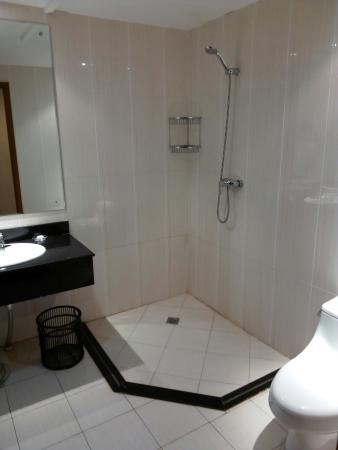 Golden Peacock Hotel : Bathroom