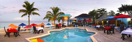 Negril Palms Hotel: Pool Panoramic