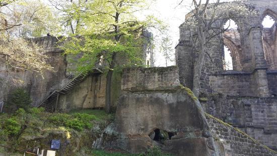 Hotel Oybiner Hof: Burgruine in Oybin