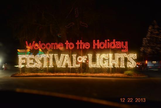 James Island County Park: Festival of Lights